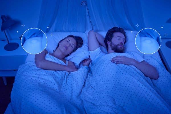 Minihug sleep sensor