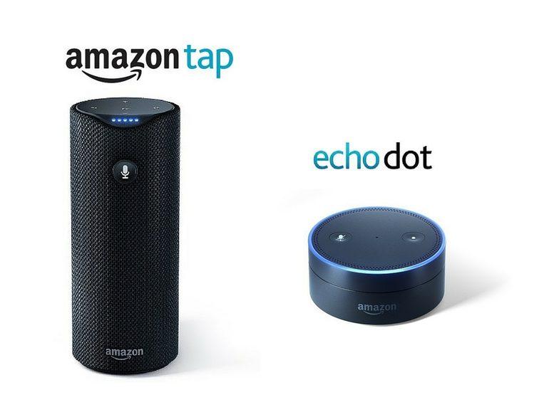 Amazon Echo Tap & Dot