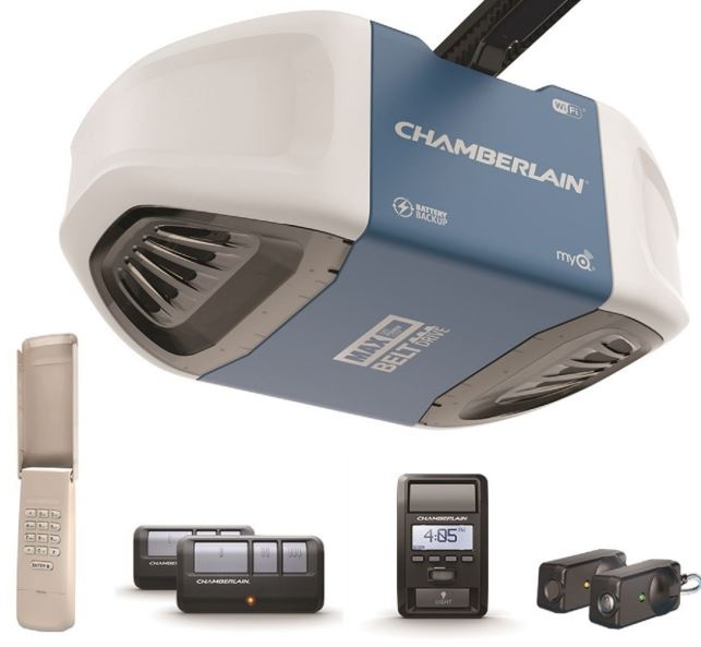 Chamberlain B970 WiFi Garage Door Openers
