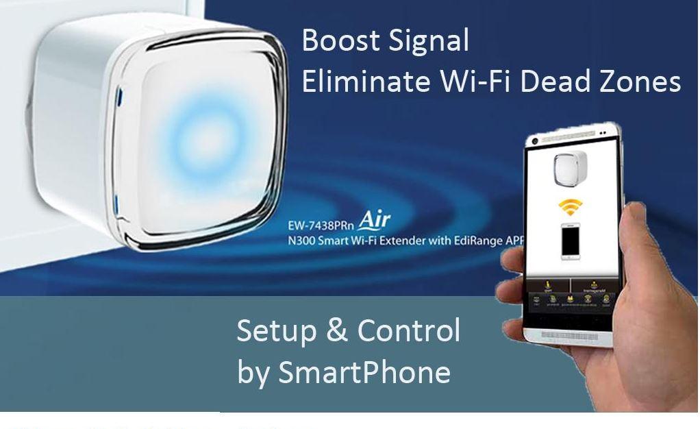 Edimax N300 Ultra-Mini Wi-Fi Extender