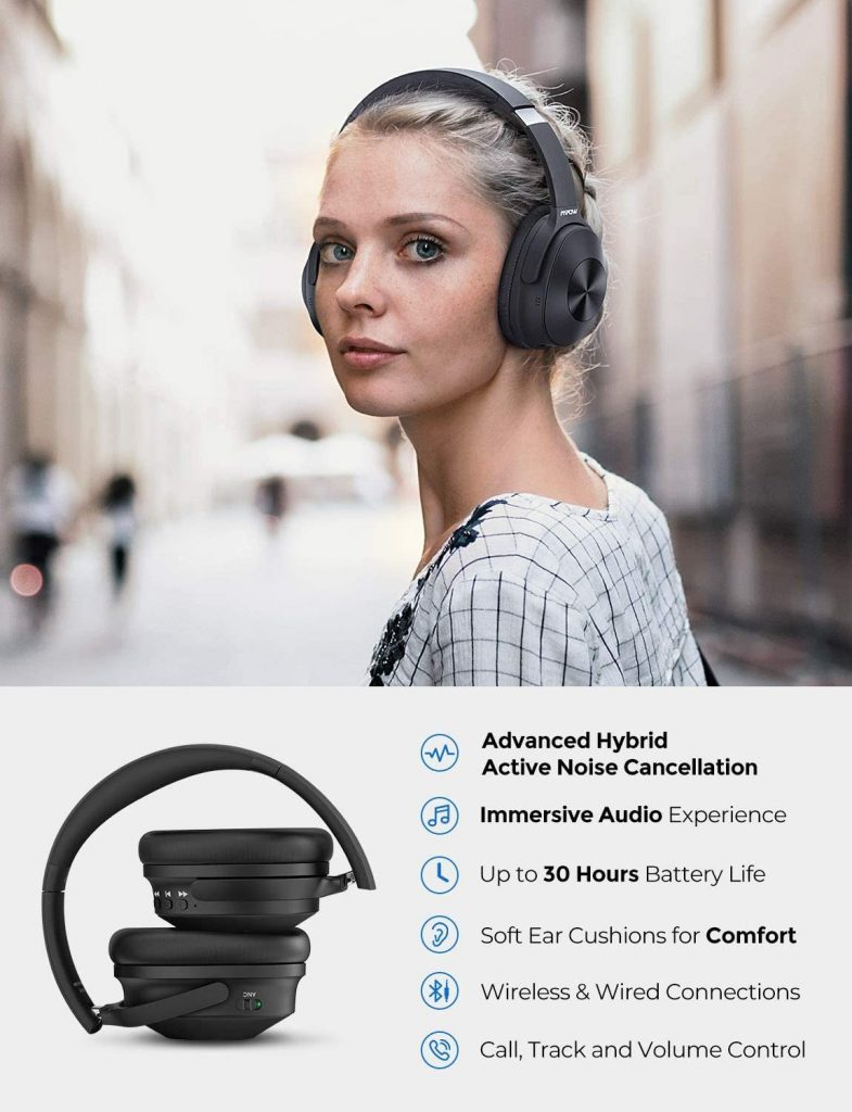 Mpow H12 Hybrid ANC Headphones Comfort Concerns