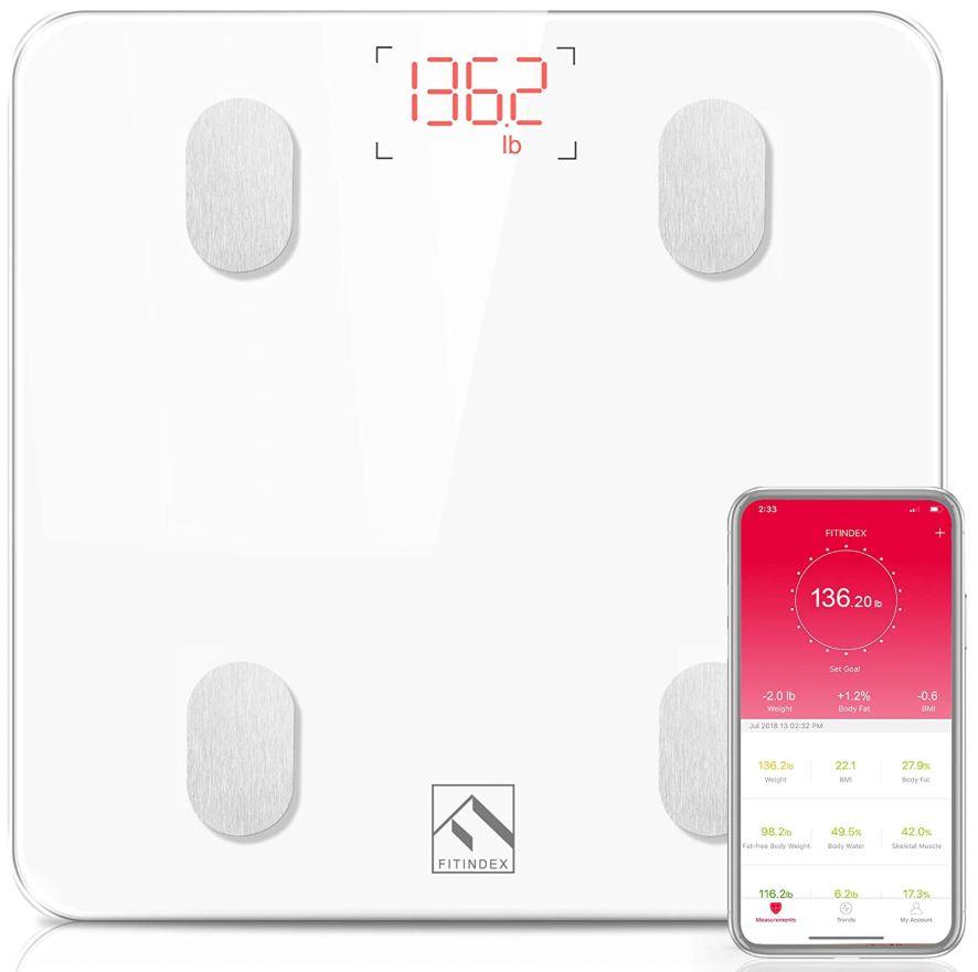 FITINDEX Bluetooth Body Fat Scale