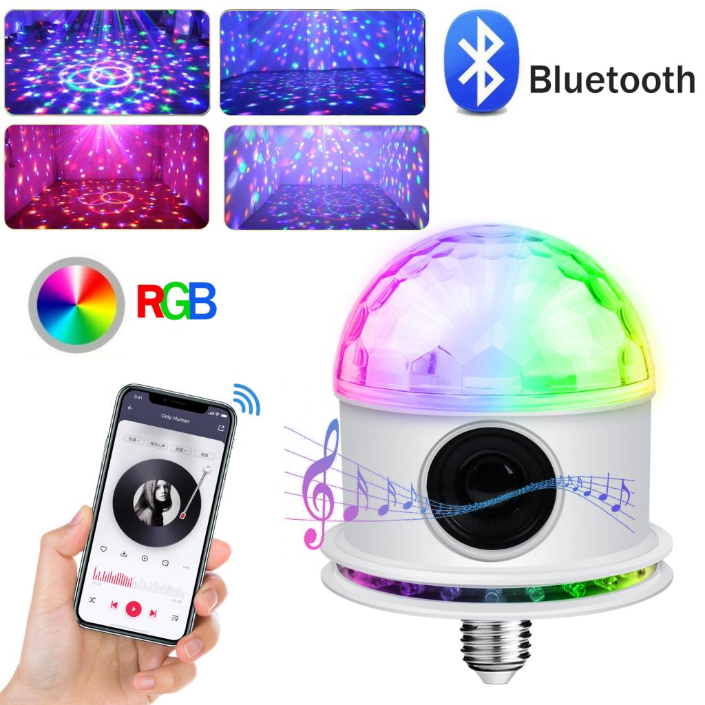 Bluetooth Light Bulb Speakers