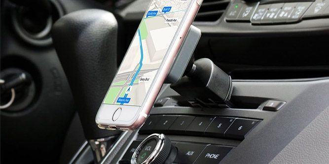 Bestrix Universal CD Slot Smartphone Car Mount/Holder
