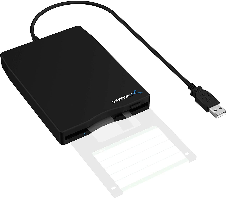 SabrentExternal USB 1.44MB 2x Floppy Disk Drive