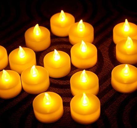 Instapark Flameless LED Tea Light Candles