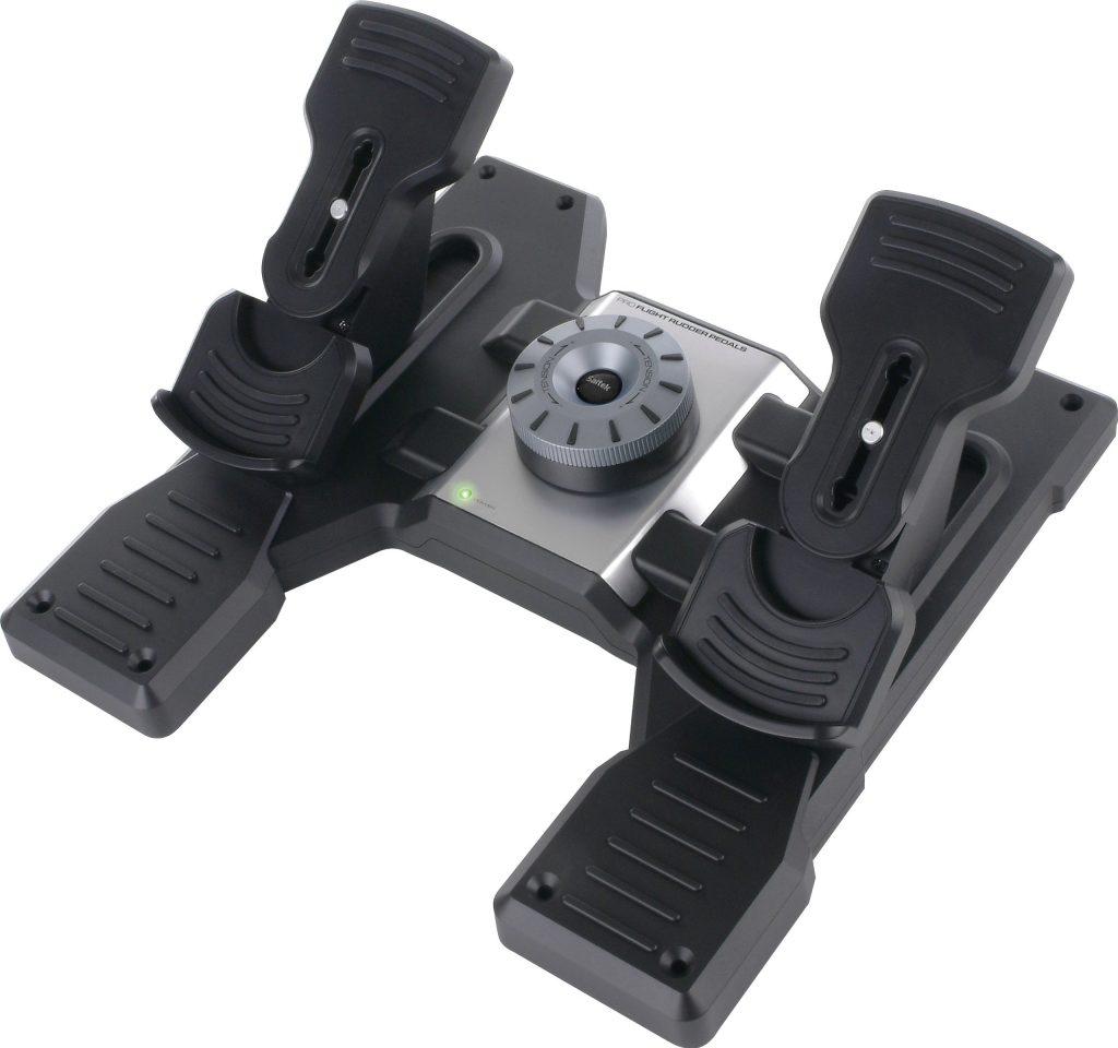 Logitech G PRO Flight Rudder Pedals