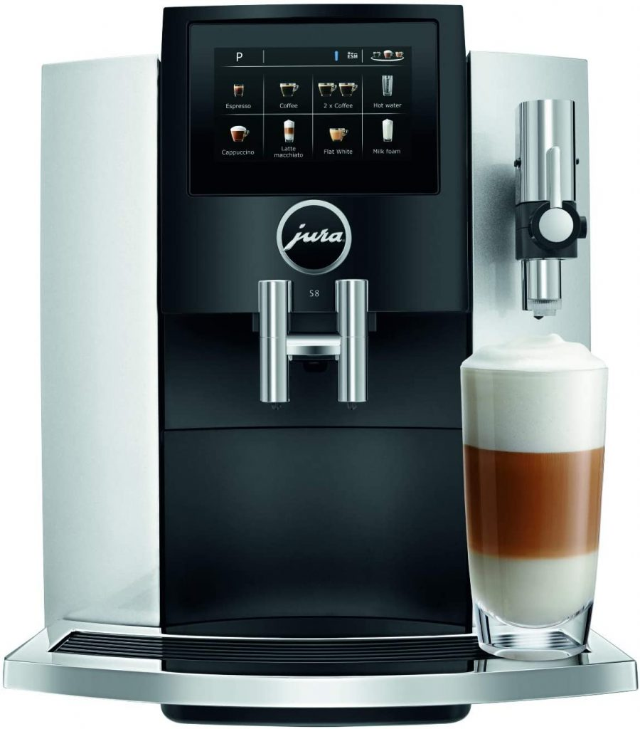 The coffee machine: Jura S8