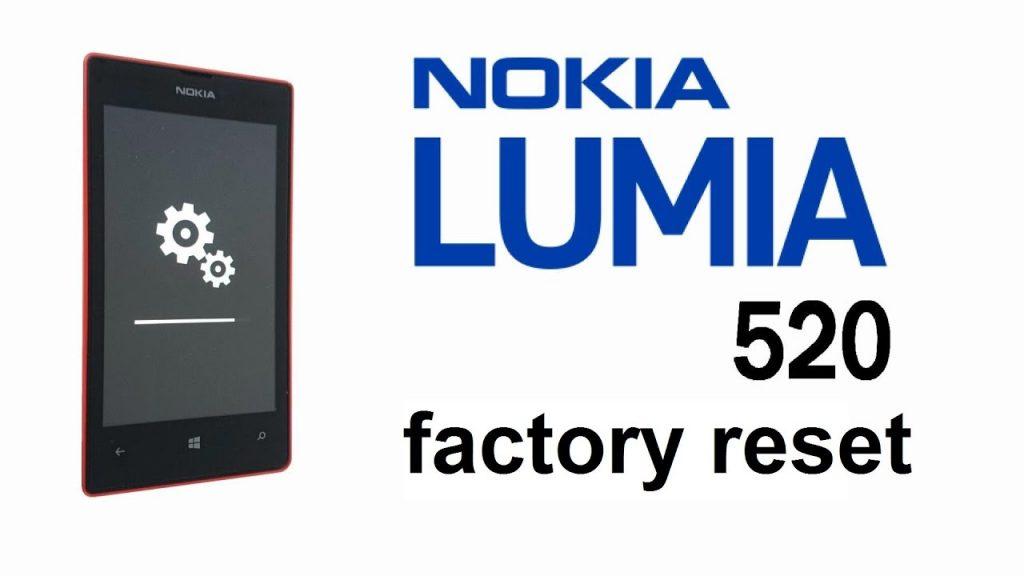 How Do I Carry Out Nokia 520 Hard Reset.