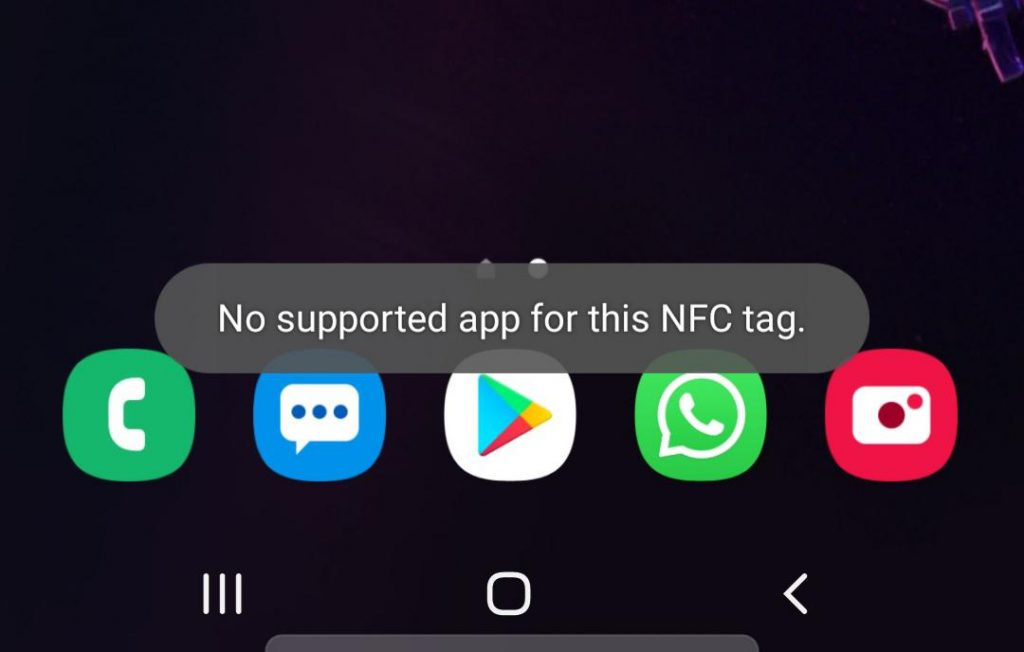 How To Fix No Supported App For This Nfc Tag Android.